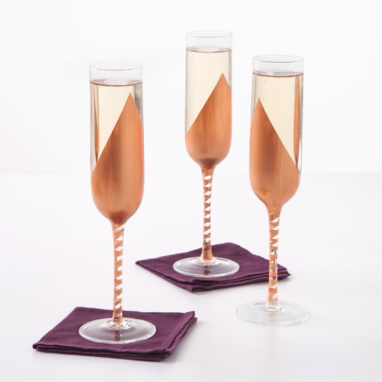 Martha stewart crafts mad about color november 2014 for Martha stewart christmas wine glasses