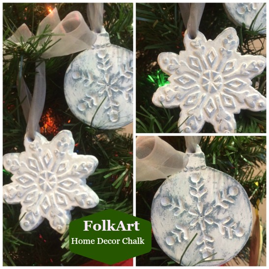 How to Create a Vintage Styled Snowflake Ornament  Plaid Online