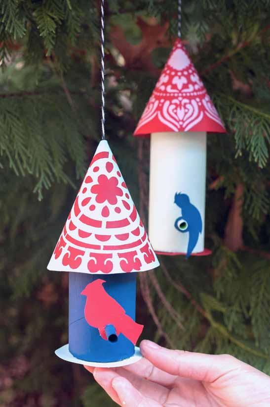 Handmade Charlotte Paper Craft For Birds Plaid Online