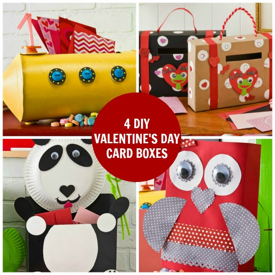 Upcycled Kids Valentines Day Card Box Ideas – Valentines Card Box Ideas