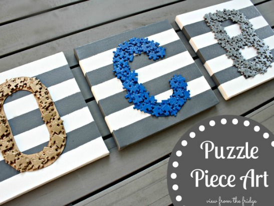 Simply Puzzling DIY Projects!