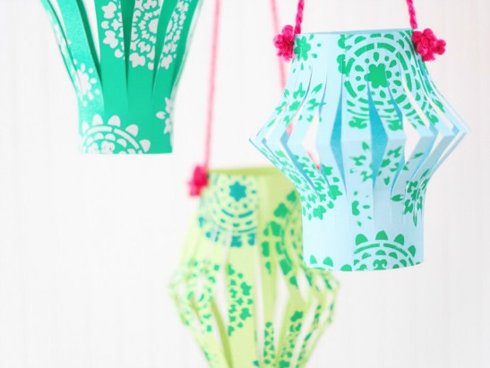 The Easiest DIY Paper Lanterns