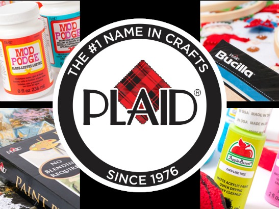 Follow Plaid Crafts on Social Media