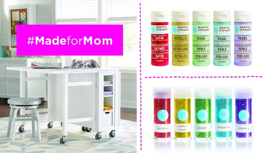 Martha Stewart Crafts #MadeforMom Sweepstakes