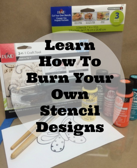 Learn how to make your own stencil designs its easy plaid online today i would like to demonstrate how to use the 2 n 1 craft tool to cut or burn a stencil and then create a quick notecard spiritdancerdesigns Gallery