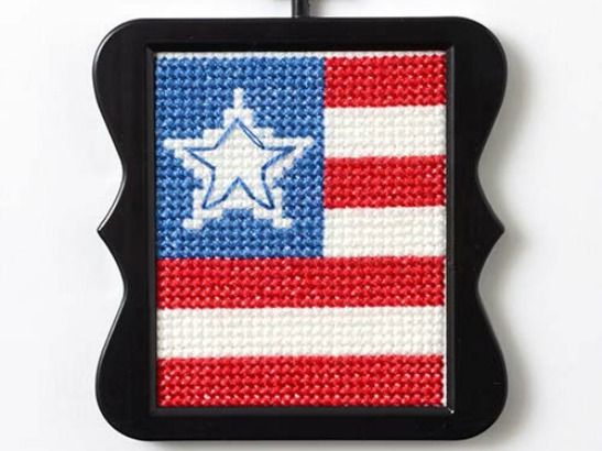 Stars and Stripes Free Cross Stitch Pattern!