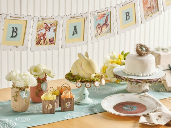 7 DIYs: Gender Neutral Woodland Themed Baby Shower Idea