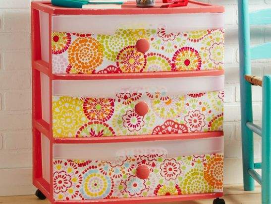 DIY Storage Upcycle with Waverly® Inspirations