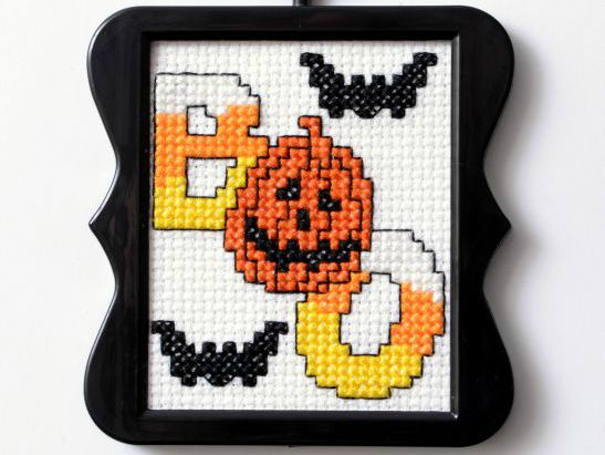 Free Downloadable Halloween Cross Stitch Pattern