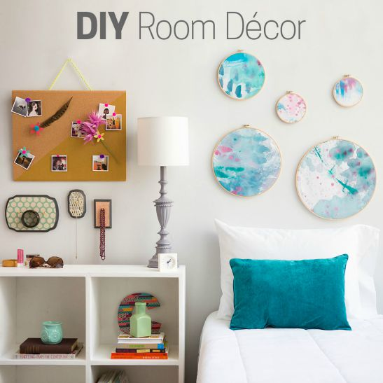 Room diy decor diy room decor affordable diy decorating the best diy shelves creativebug - Homemade bedroom decor ...