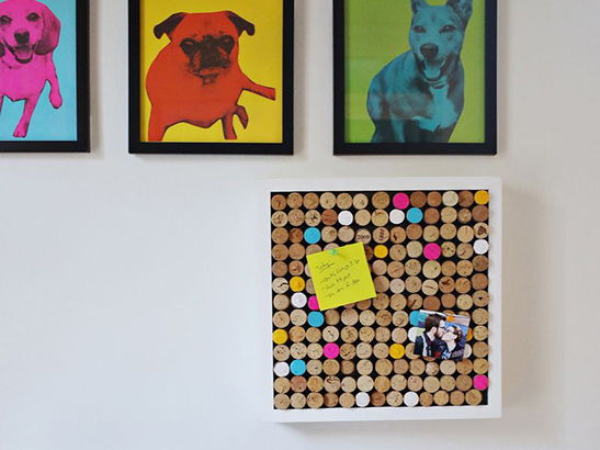 Get Organized: 5 Fab Memo Boards to DIY