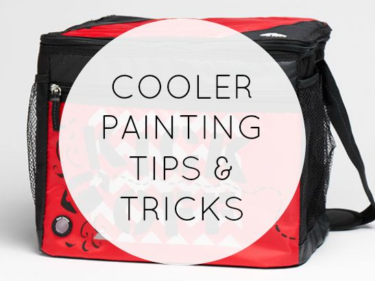 Cooler Painting Tips & Tricks