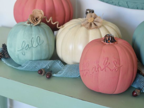 The 8 Coolest Decorative Pumpkins for Fall