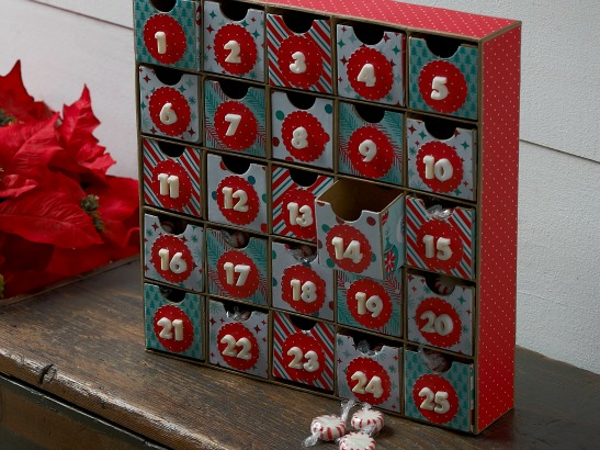 DIY Kids Christmas Countdown Calendar!