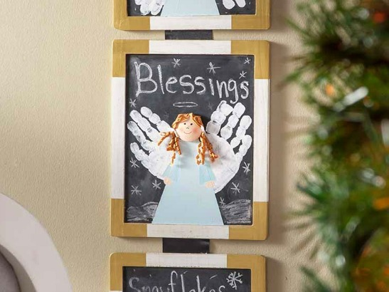 10 DIY Handprint Christmas Crafts