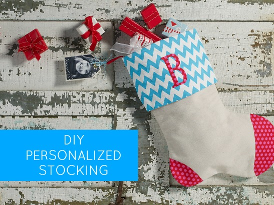 Make Your Own Personalized Christmas Stocking!