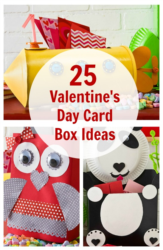 25 Valentines Day Card Box Ideas for Kids – Boy Valentines Day Cards