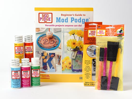 Mod Podge Beginner's Guide to Decoupage Kit