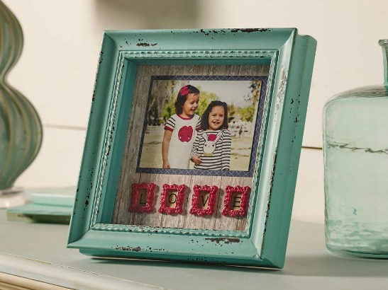 DIY Mod Podge Shadowbox Frame