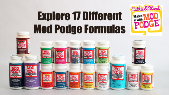 Your Guide to All 17 Varieties of Mod Podge