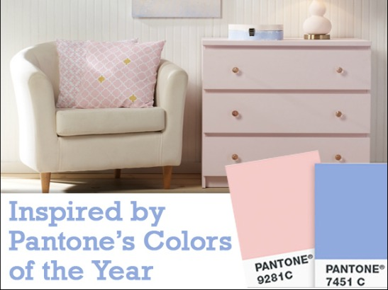 Pantone Color of the Year 2016: DIY Home Decorating Inspiration