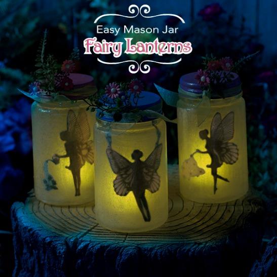 How Enchanting The Easiest Mason Jar Fairy Lantern And Free Printable Plaid Online