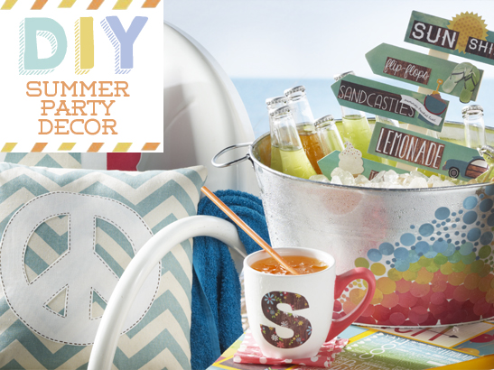 DIY Summer Party Decor!