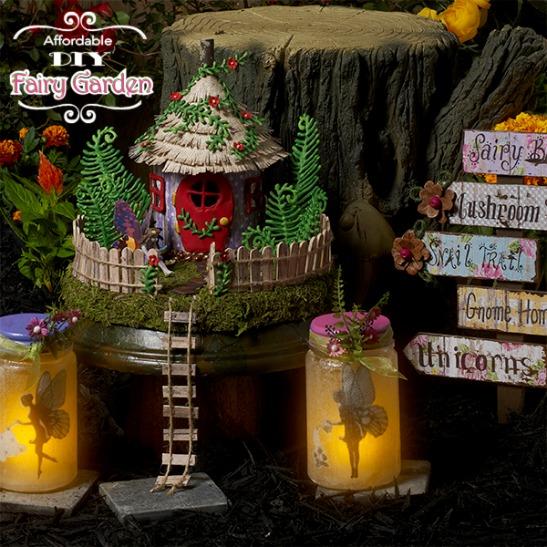 5 adorable fairy garden ideas to make right now plaid online for Garden maker online