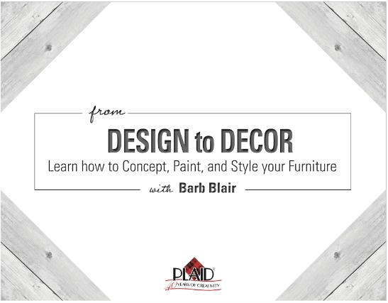 Free video class from design to decor learn how to for Learn to paint online