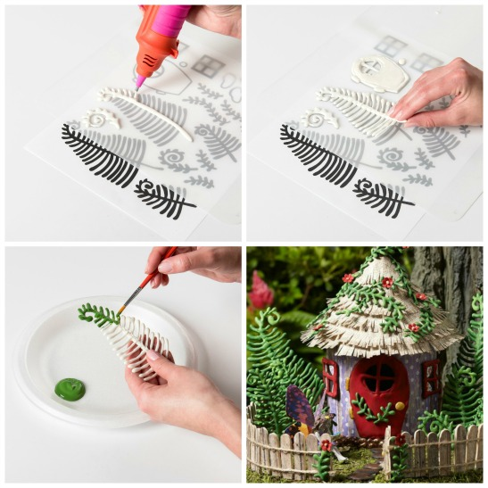 Diy affordable fairy garden accessories with free template for Garden maker online