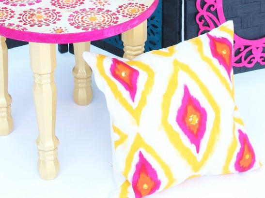 Furniture Flip: 5 Bright & Bold Boho DIYs to Try