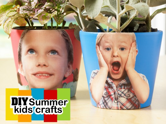 5 Must Try Mod Podge Summer Kids Crafts!