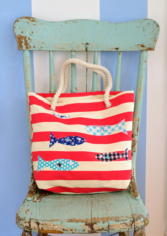 DIY tote for summer