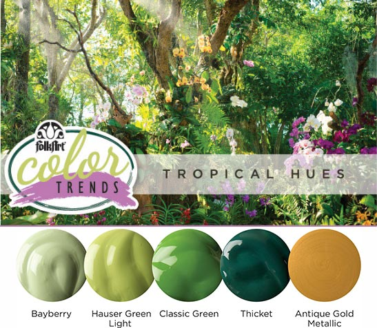 Color Trend: 3 Must Make Tropical Hue Inspired DIYs