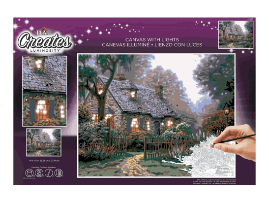 Thomas Kinkade Paint-by-Number Giveaway!
