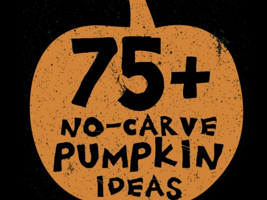 75+ No Carve DIY Halloween Pumpkin Decorating Ideas: The Ultimate Roundup!