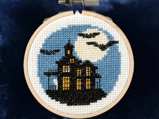 Bucilla: Free Halloween Cross Stitch Pattern