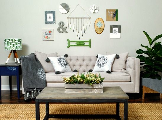 Diy Family Room Makeover Collab & $500 Plaid Giveaway! | Plaid Online