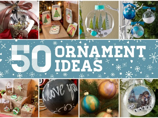 DIY These Top 50 Homemade Christmas Ornaments!