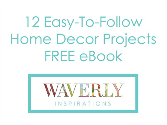 Free eBook! DIY Decorating: A Beginner