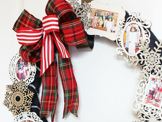 9 Creative DIY Holiday Wreaths Your Door Will Love