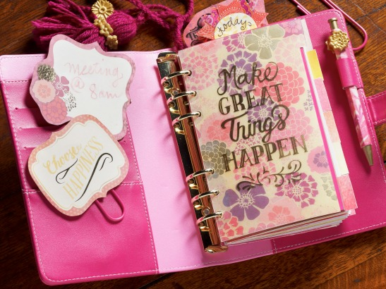 The Ultimate DIY Planner with Mod Podge!