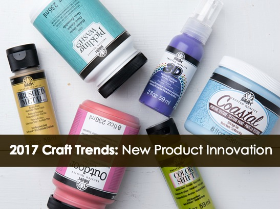 2017 Craft Trends: New Product Innovation at CHA's Creativation!