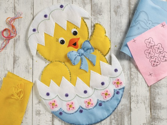 New Bucilla Easter & Spring Felt Kits!