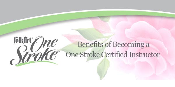 Benefits of Becoming a One Stroke Certified Instructor