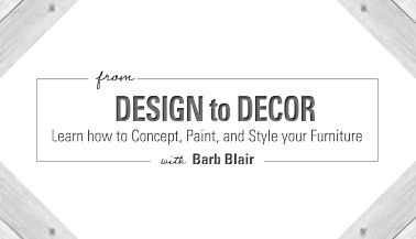 From Design to Decor: Learn How to Concept, Design, and Paint Your Furniture