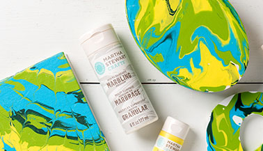 How to Use Martha Stewart Marbling Medium