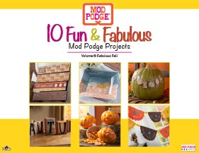 10 Fun and Fabulous Fall Mod Podge Projects
