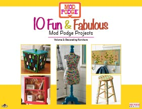 10 Fun and Fabulous Decoupage Furniture Projects