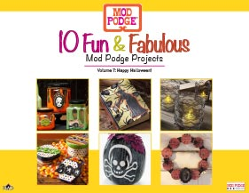 10 Fun and Fabulous Halloween Decoupage Project Ideas